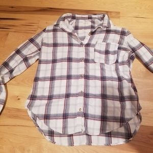Hollister Women's Flannel Button Down